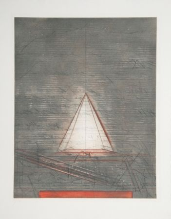 Etching And Aquatint Dahmen - Semiotische Komposition