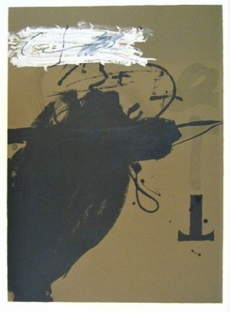 Lithograph Tàpies - Senanque 2