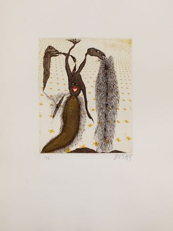 Etching And Aquatint Zush - Senidros