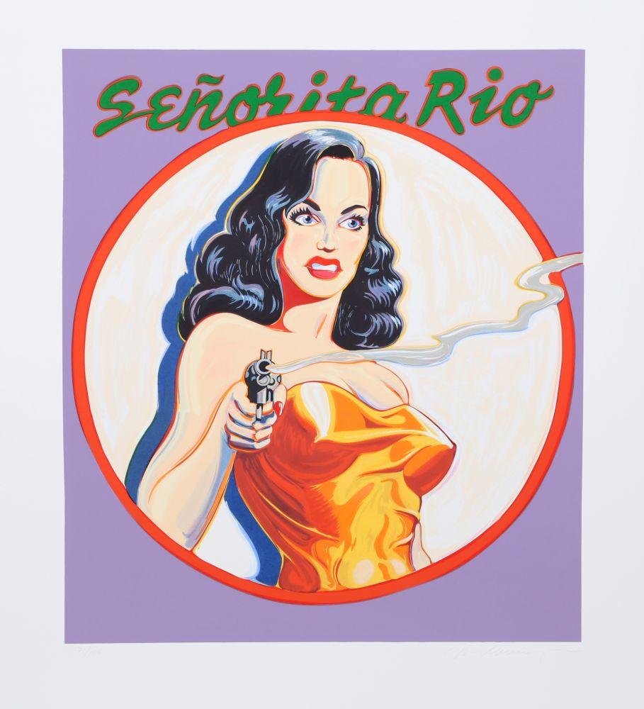 Lithograph Ramos - Senorita Rio