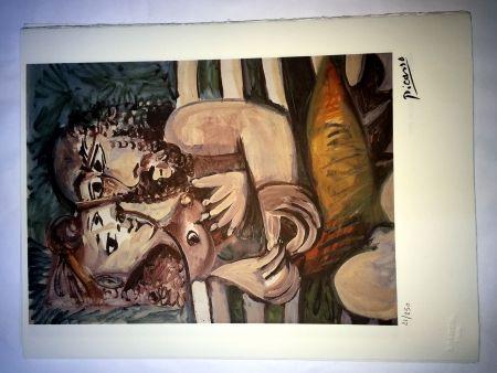 Lithograph Picasso - Sensa titolo