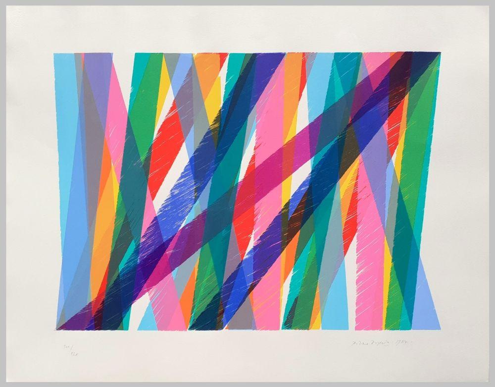 Lithograph Dorazio - Senza titolo