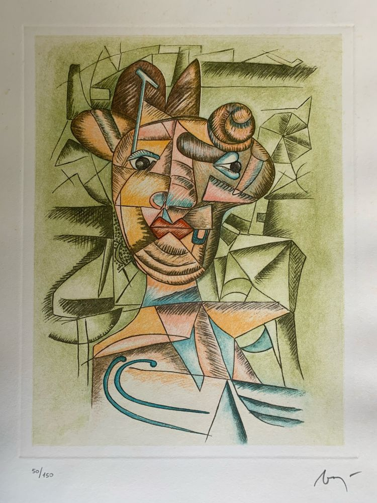 Lithograph Baj - Senza titolo