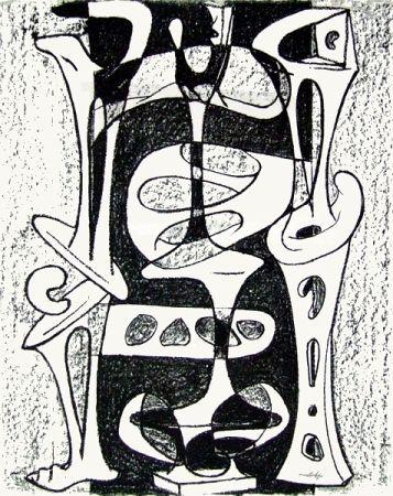 Lithograph Cardenas - Senza titolo