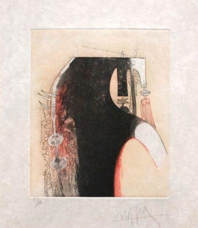 Etching And Aquatint Lam - Senza titolo