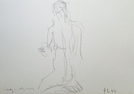 Lithograph Fabro - Senza titolo