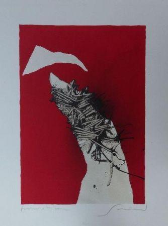 Lithograph Scanavino - Senza titolo