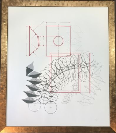 Lithograph Bonalumi - Senza titolo
