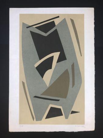 Lithograph Magnelli - Senza titolo
