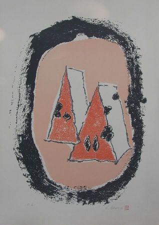 Lithograph Azuma - Senza titolo