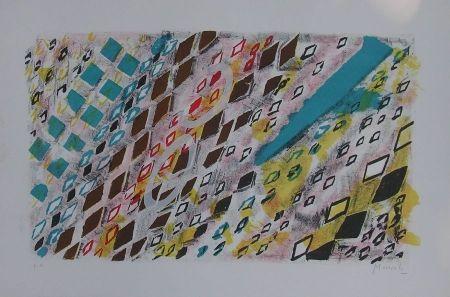 Lithograph Moncada - Senza titolo