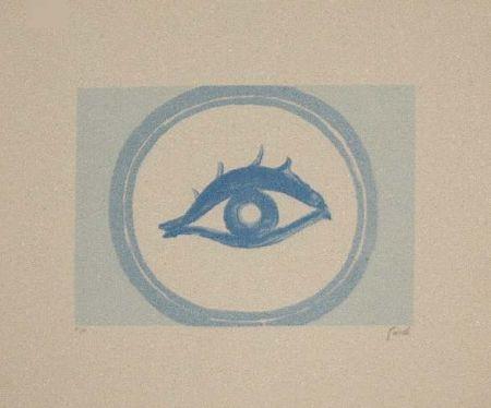 Lithograph Guidi - Senza Titolo