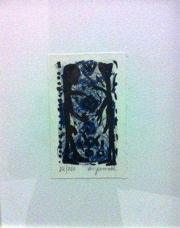 Lithograph Penck - Senza titolo