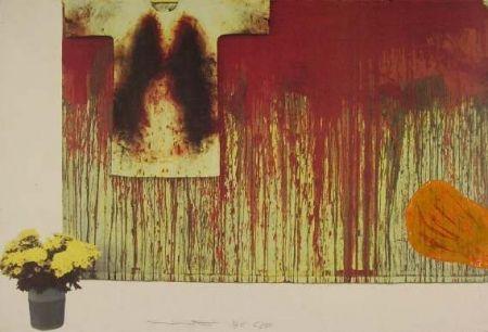 Lithograph Nitsch - Senza Titolo