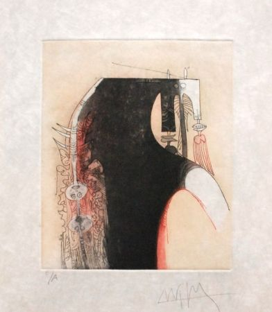 Etching And Aquatint Lam - Senza titolo