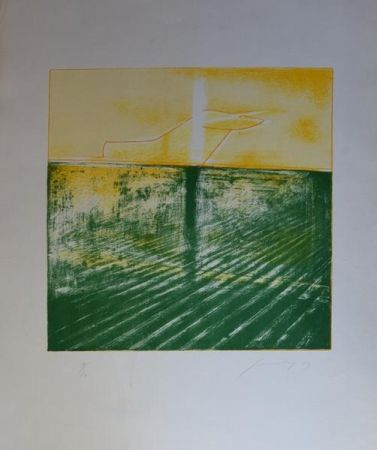 Etching And Aquatint Guccione - Senza titolo