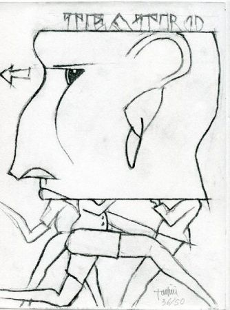 Engraving Tadini - Senza titolo