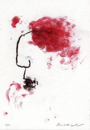Lithograph Arcangelo - Senza titolo