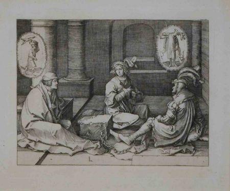 Engraving Van Leyden - Senza titolo