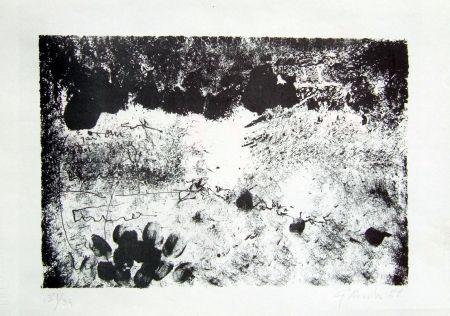 Lithograph Novelli - Senza titolo
