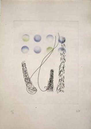 Etching And Aquatint Melotti - Senza titolo