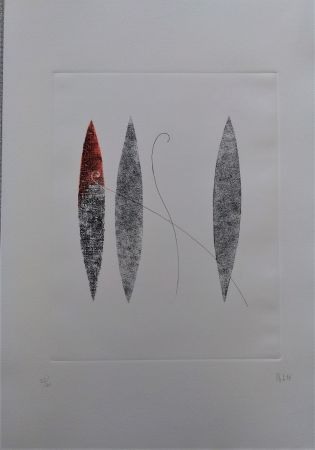 Etching And Aquatint Melotti - Senza titolo