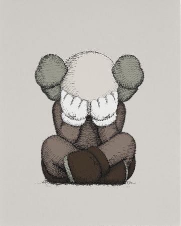 Lithograph Kaws - Separated