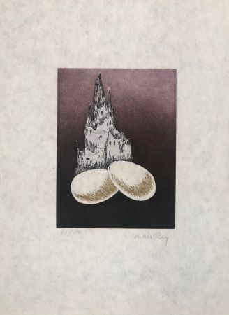 Etching And Aquatint Ray - Serie Electro Magie