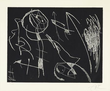 Engraving Miró - Serie Mallorca - Negro y Blanco I