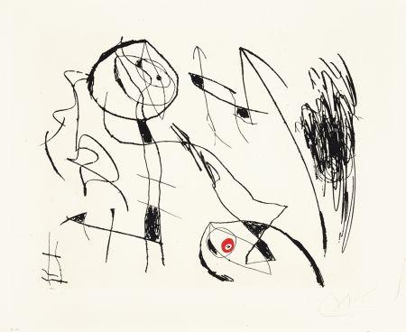 Engraving Miró - Serie Mallorca I