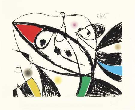 Engraving Miró - Serie Mallorca III