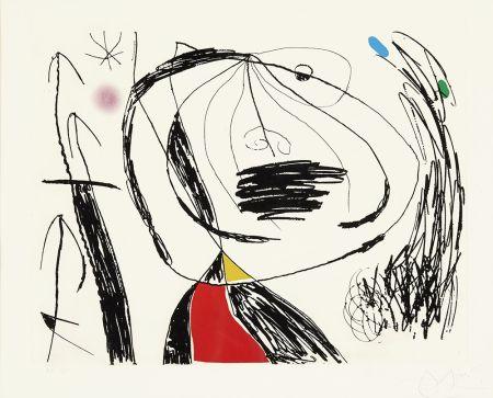 Engraving Miró - Serie Mallorca V