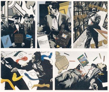 Screenprint Equipo Cronica - Serie Negra