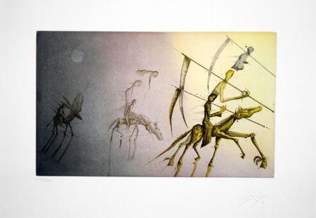 Engraving Ponç - Serie Quijote