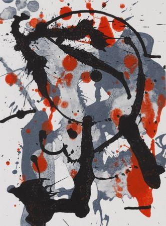 Lithograph Bird - Serie Verano Alpera II