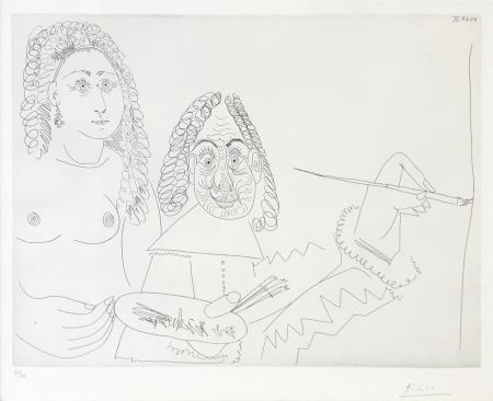 Etching Picasso - SERIES 347 (BLOCH 1502)