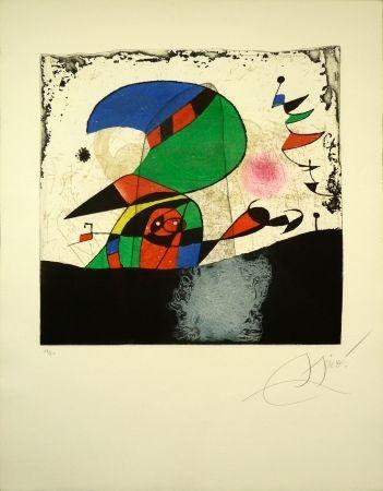 Etching Miró - Series Gaudi 29