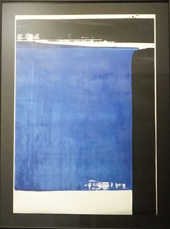 Screenprint Soulages - Serigraphie n°16