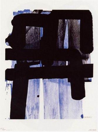 Screenprint Soulages - Serigraphie n°2