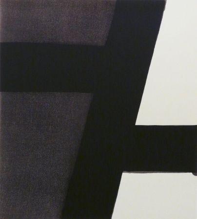 Screenprint Soulages - Serigraphie n°21