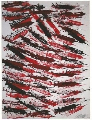Lithograph Arman - Seringues