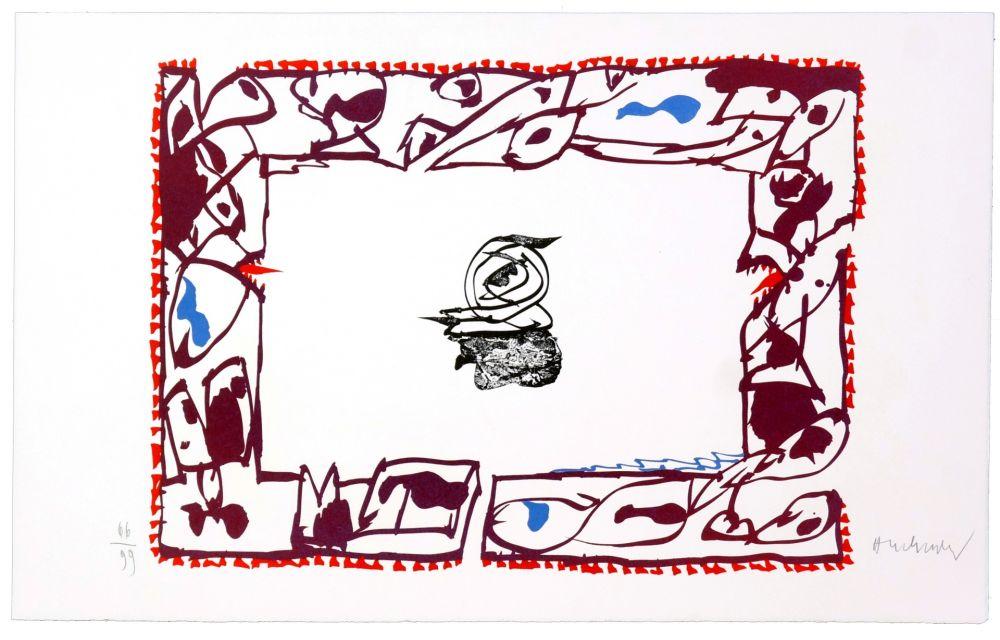 Lithograph Alechinsky - Set de Table