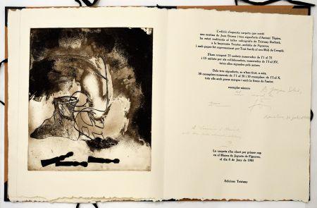 Engraving Tàpies - Sextina en el Museu de Joguets de Figueres