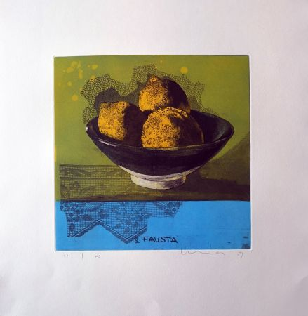 Etching And Aquatint Mair - S.Fausta