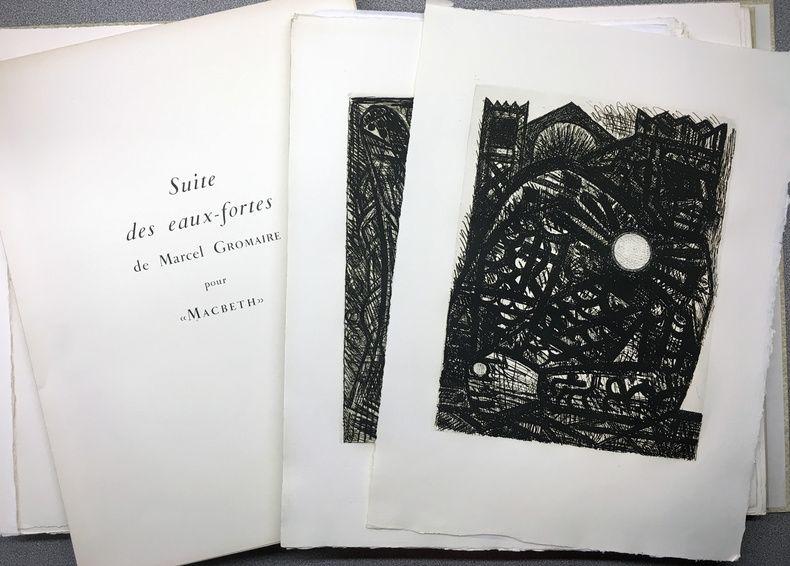 Illustrated Book Gromaire - SHAKESPEARE, William: MACBETH. Avec double suite.