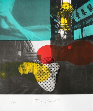 Lithograph Soulie - Shanghai Nocturne