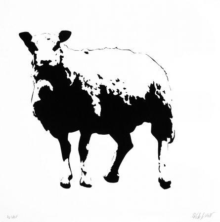 Screenprint Le Rat - Sheep