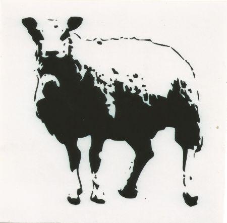 Screenprint Blek Le Rat - Sheep (baah)