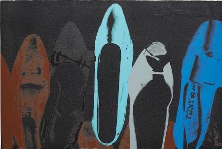 Screenprint Warhol - Shoes (FS II.257)