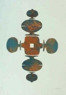 Etching And Aquatint Springer - Shrinagar